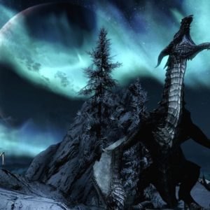 Skyrim Desktop Dragon