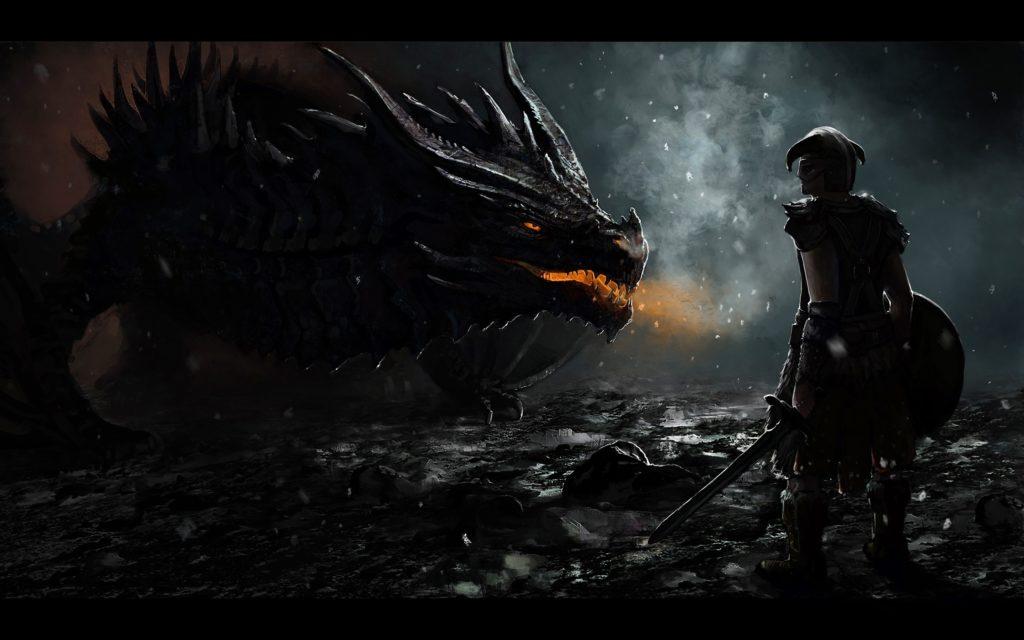 The Elder Scrolls V: Skyrim, Dragon Wallpapers HD / Desktop and Mobile  Backgrounds
