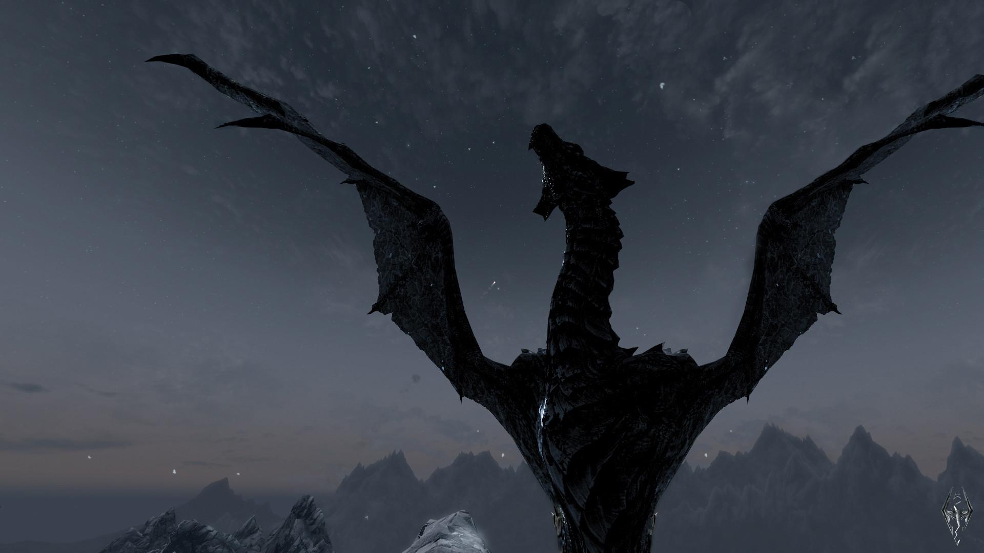 Video Game – The Elder Scrolls V: Skyrim The Elder Scrolls Skyrim Video  Game Dragon