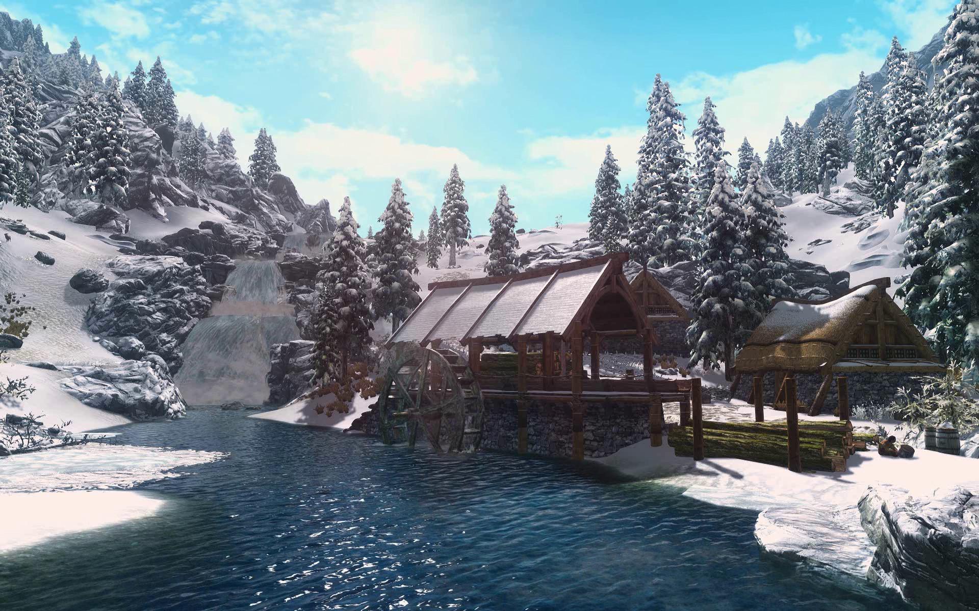 Animated Desktop Wallpaper of Skyrim at Skyrim Nexus – mods and community