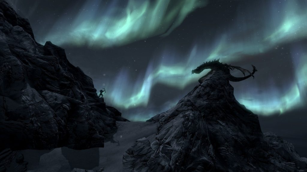 Video Game – The Elder Scrolls V: Skyrim Skyrim Dragon Wallpaper