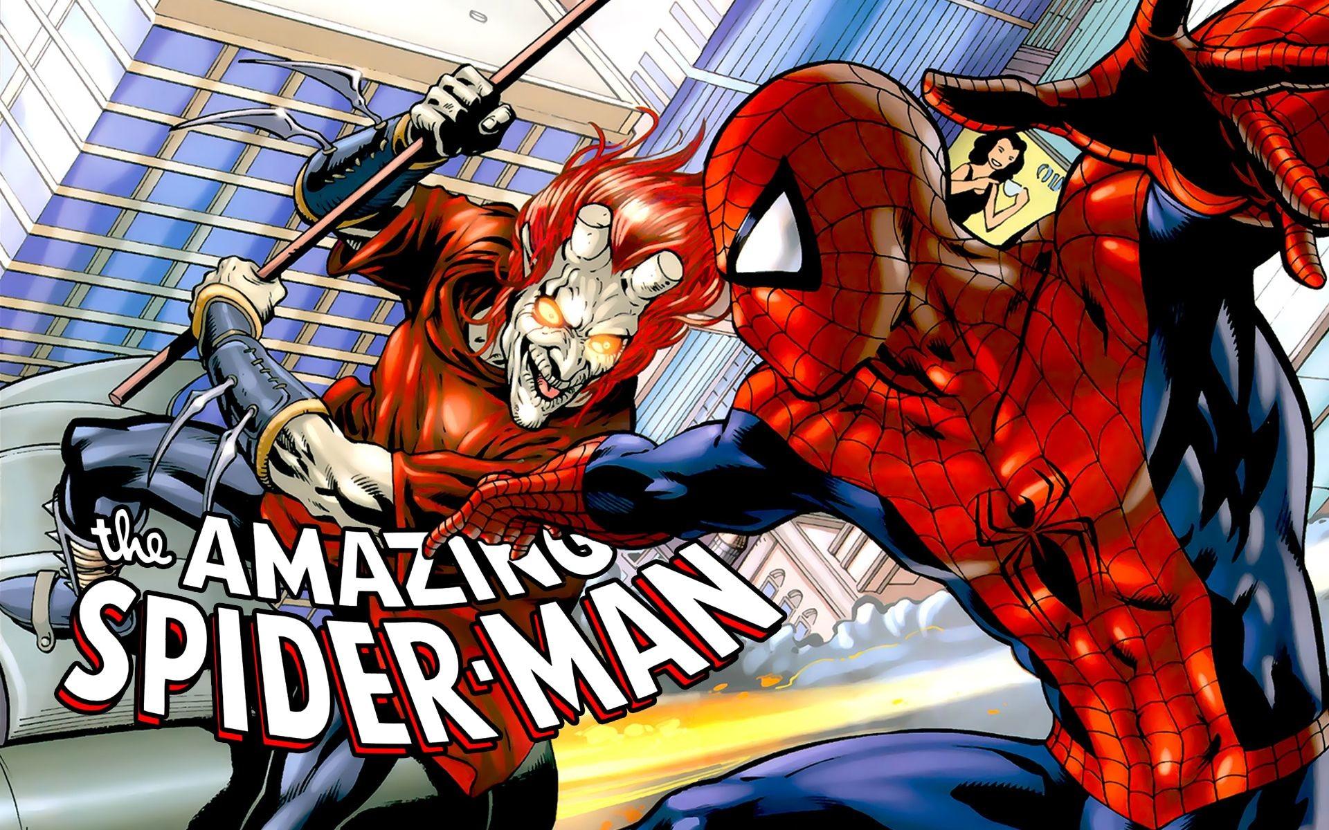 Comics Spider-Man masks Ultimate Spider-Man wallpaper
