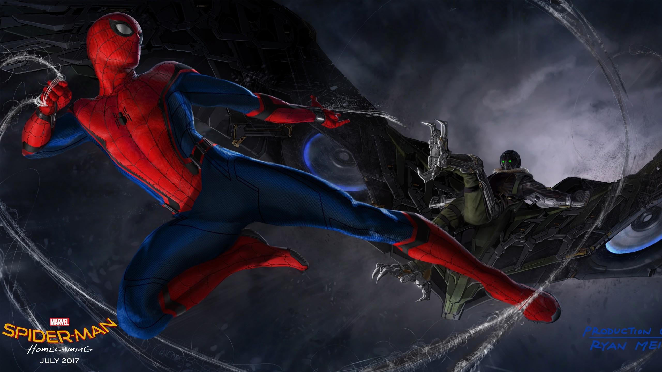 Movies / Spider-Man: Homecoming Wallpaper