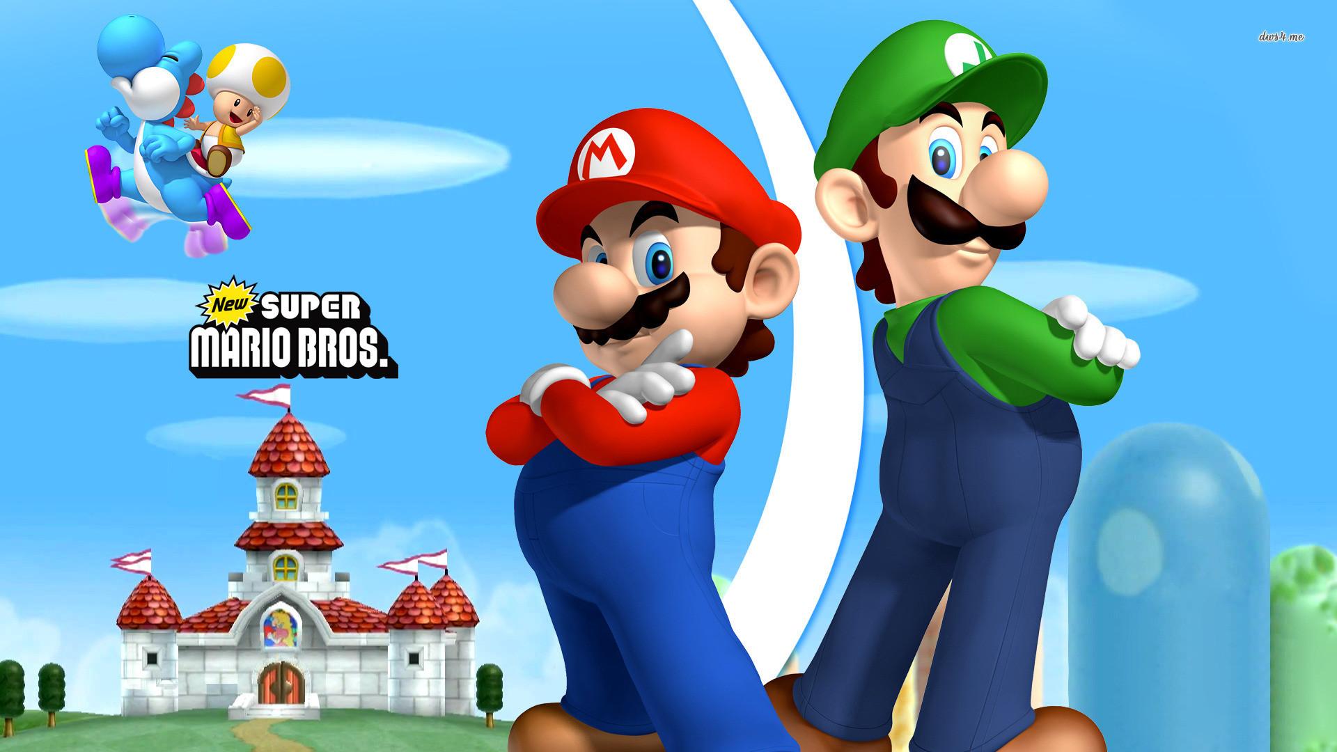 Mario and Luigi HD Wallpaper #4997