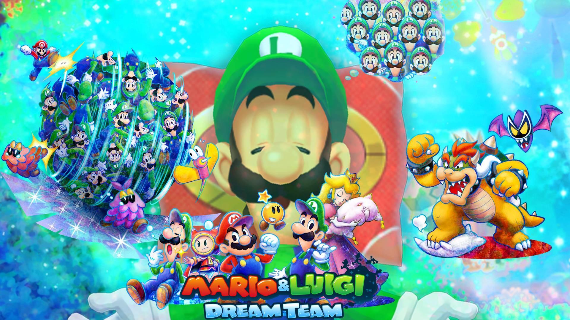Mario and Luigi RPG 4: Dream Team *My Custom Icon* by .