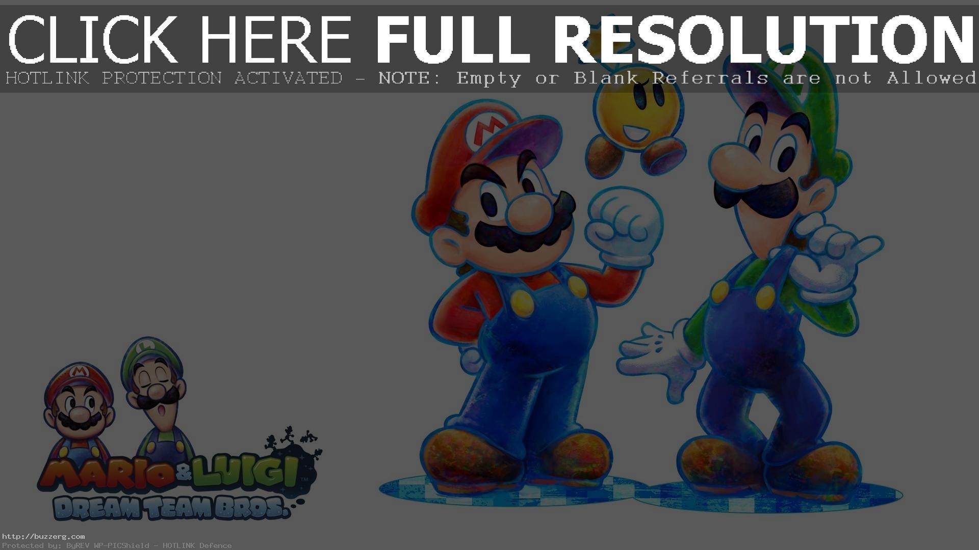 Mario And Luigi (id: 20403)