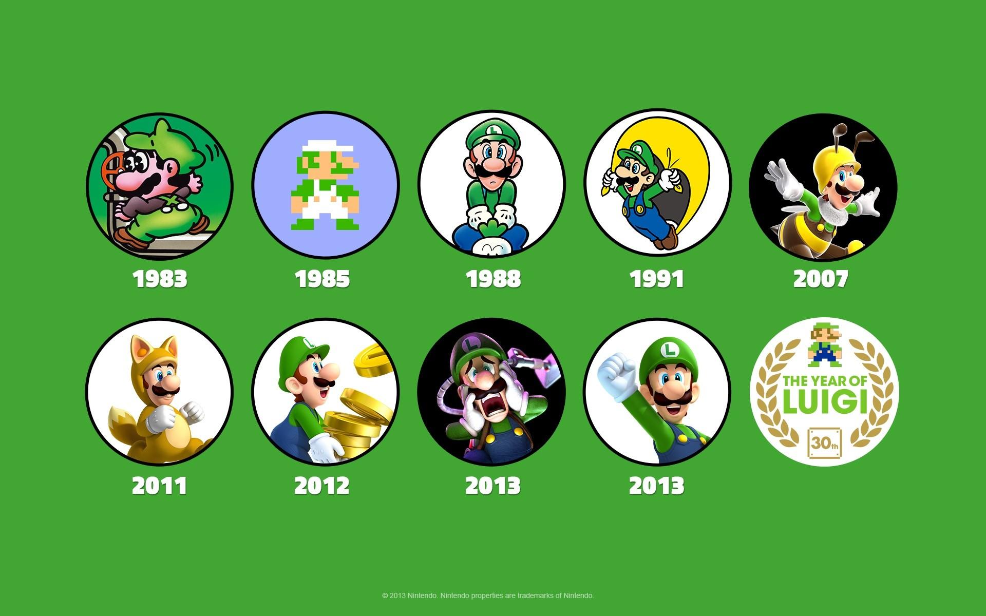Nintendo President Satoru Iwata said that The Year of Luigi will .