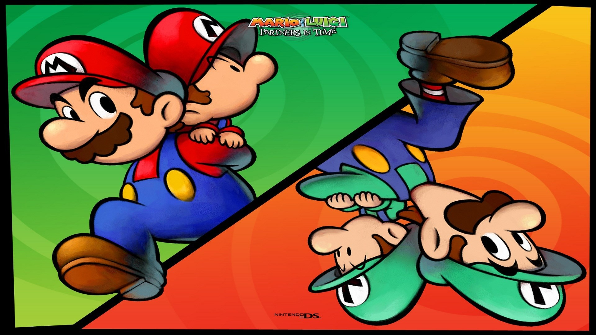 mario and luigi partners in time wallpaper free – mario and luigi partners  in time category