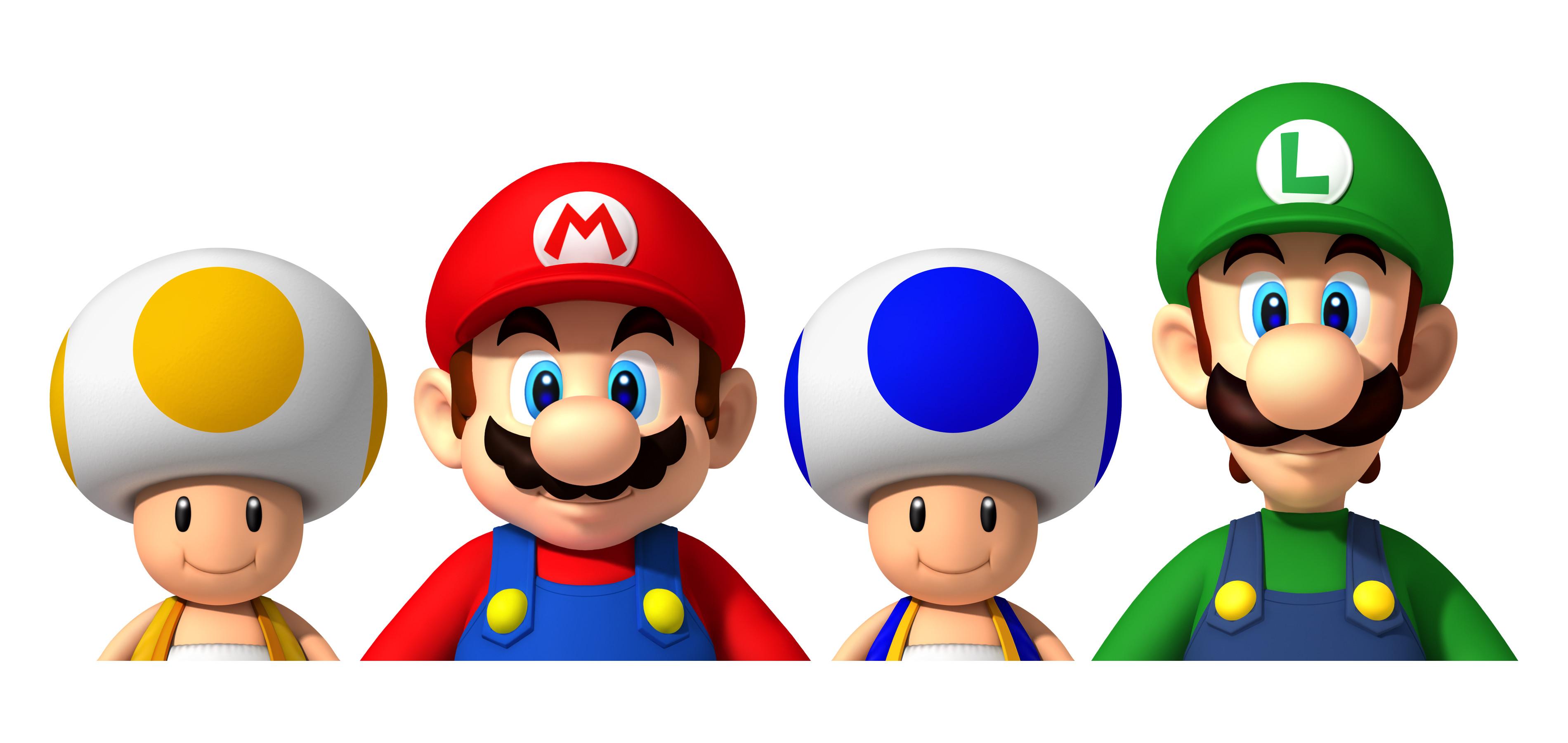 Super Mario Luigi Toads Iron on Transfer Super Mario Luigi Toads Iron on  Transfer : Top Iron-On Transfers!