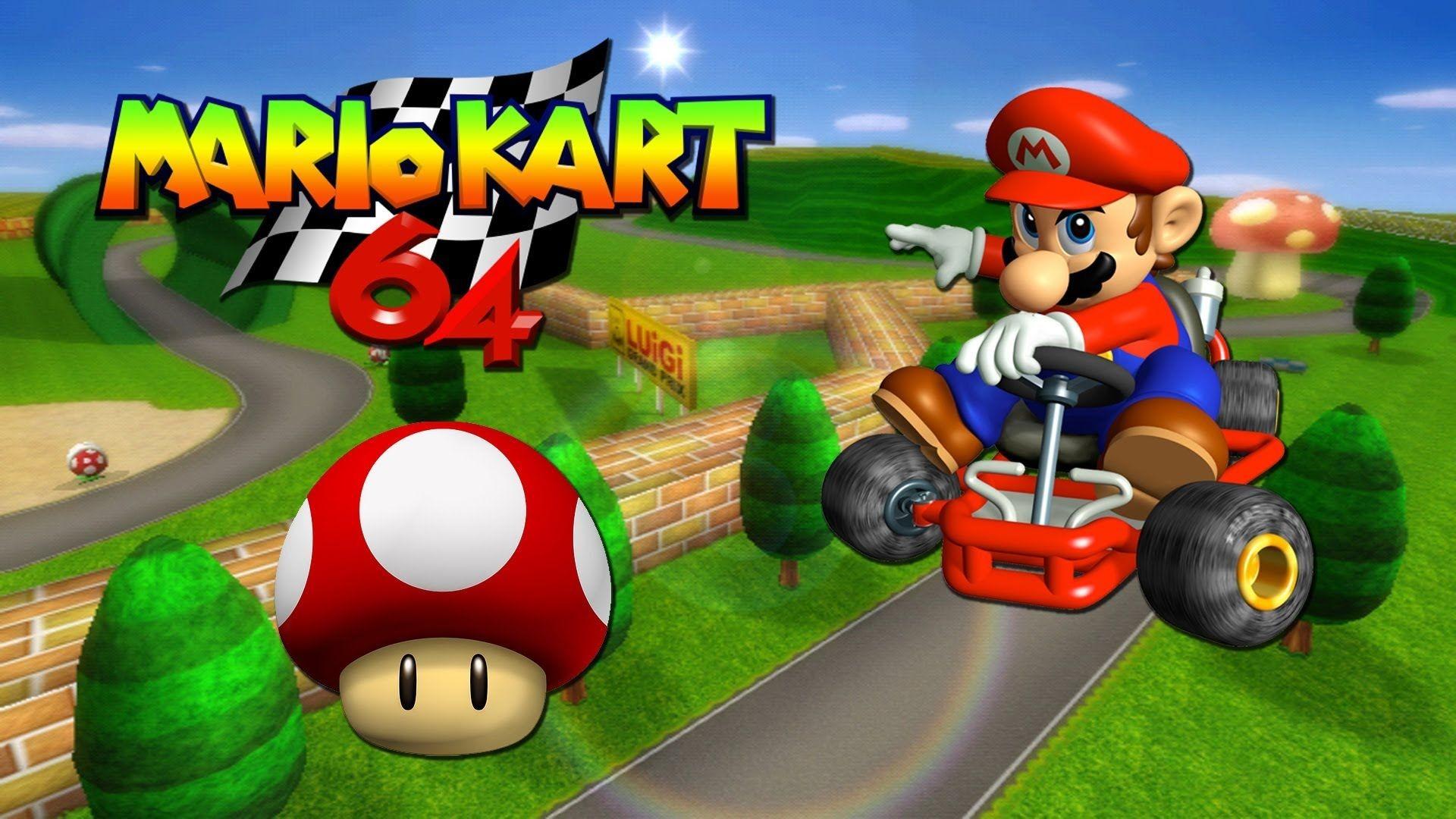 1920x1080px Mario Kart 64 #358484