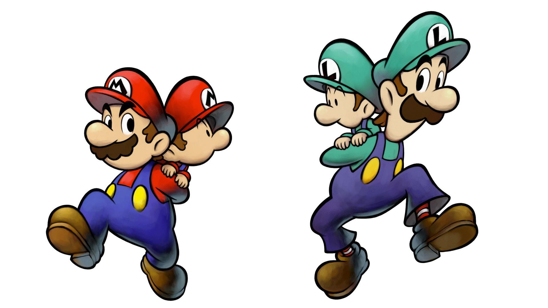 … Mario & Luigi: Partners in Time – Fanart – Background …