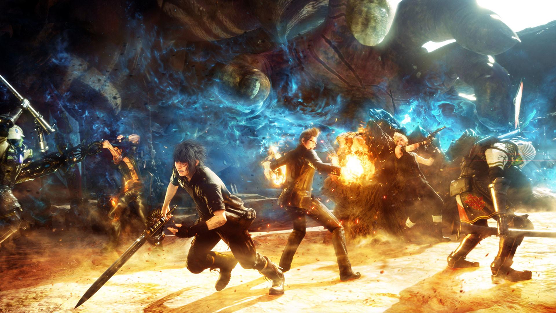 … Final Fantasy XV 720p Wallpaper …
