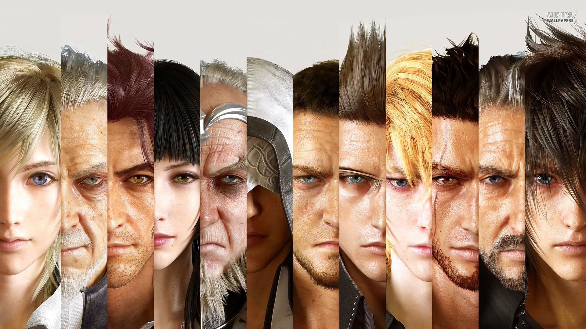 Final Fantasy XV TGS 2014 Trailer | Lord Nomura giveth us His only Son so we