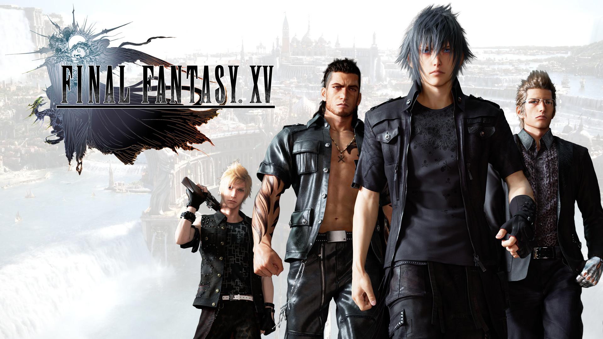 … Final Fantasy XV wallpaper, whit new prompto by REALzeles