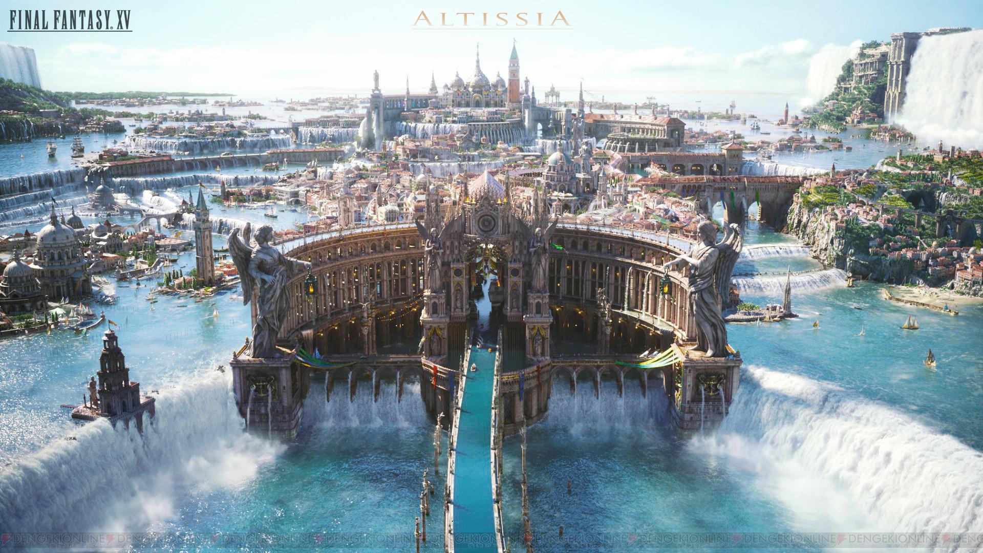 … Final Fantasy XV – Altissia by NurBoyXVI