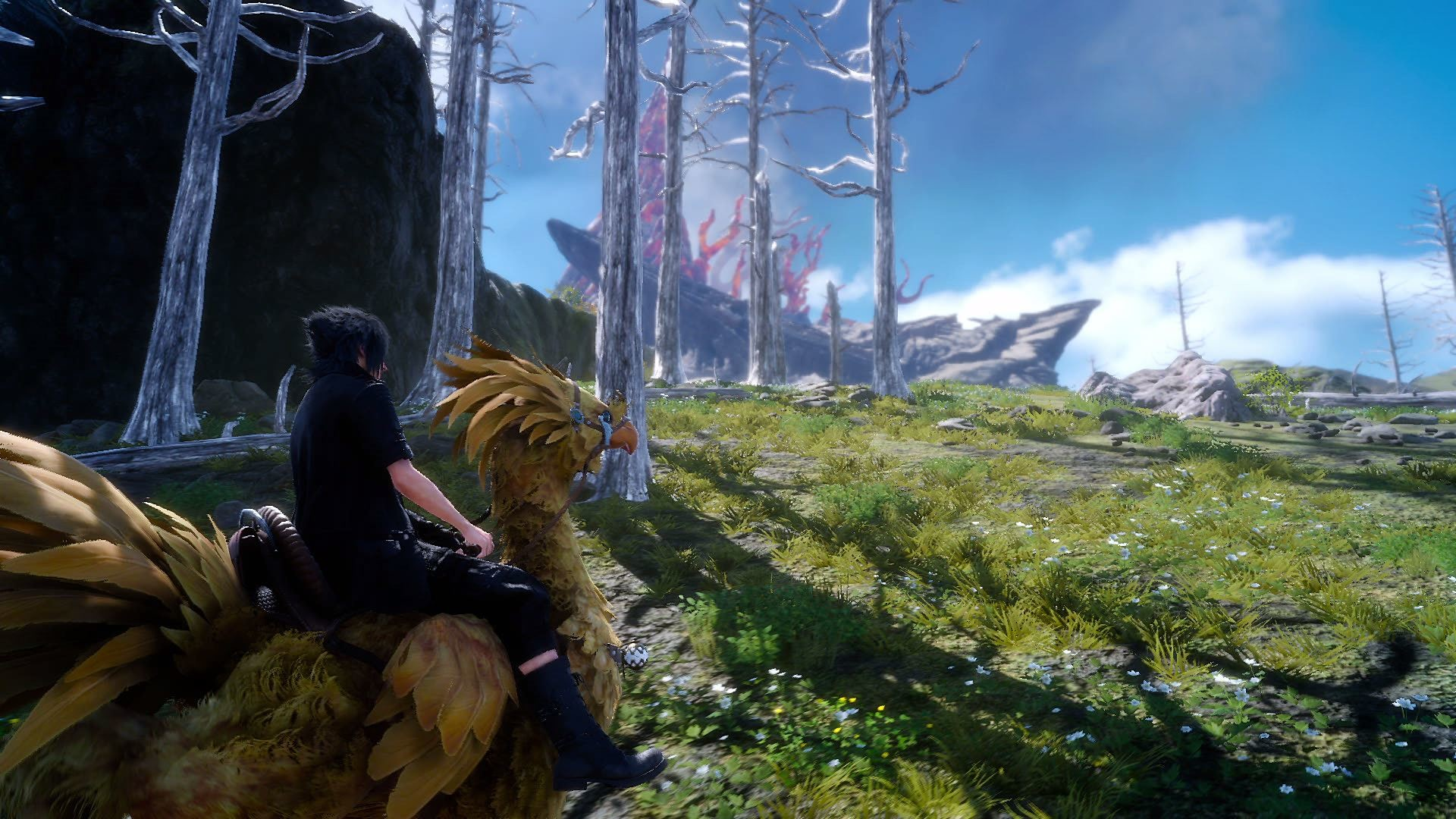 Riding Chocobo – Final Fantasy XV wallpaper