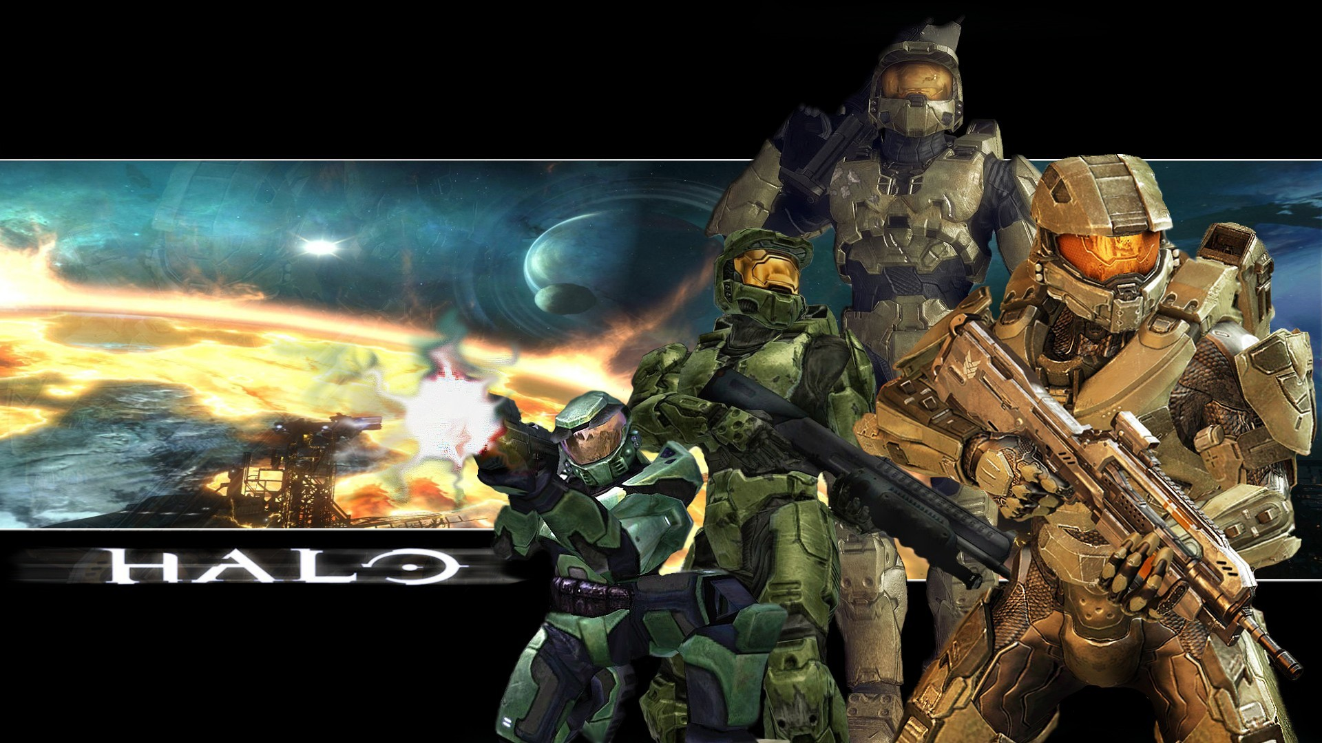 Halo 4 Master Chief Cool Wallpapers