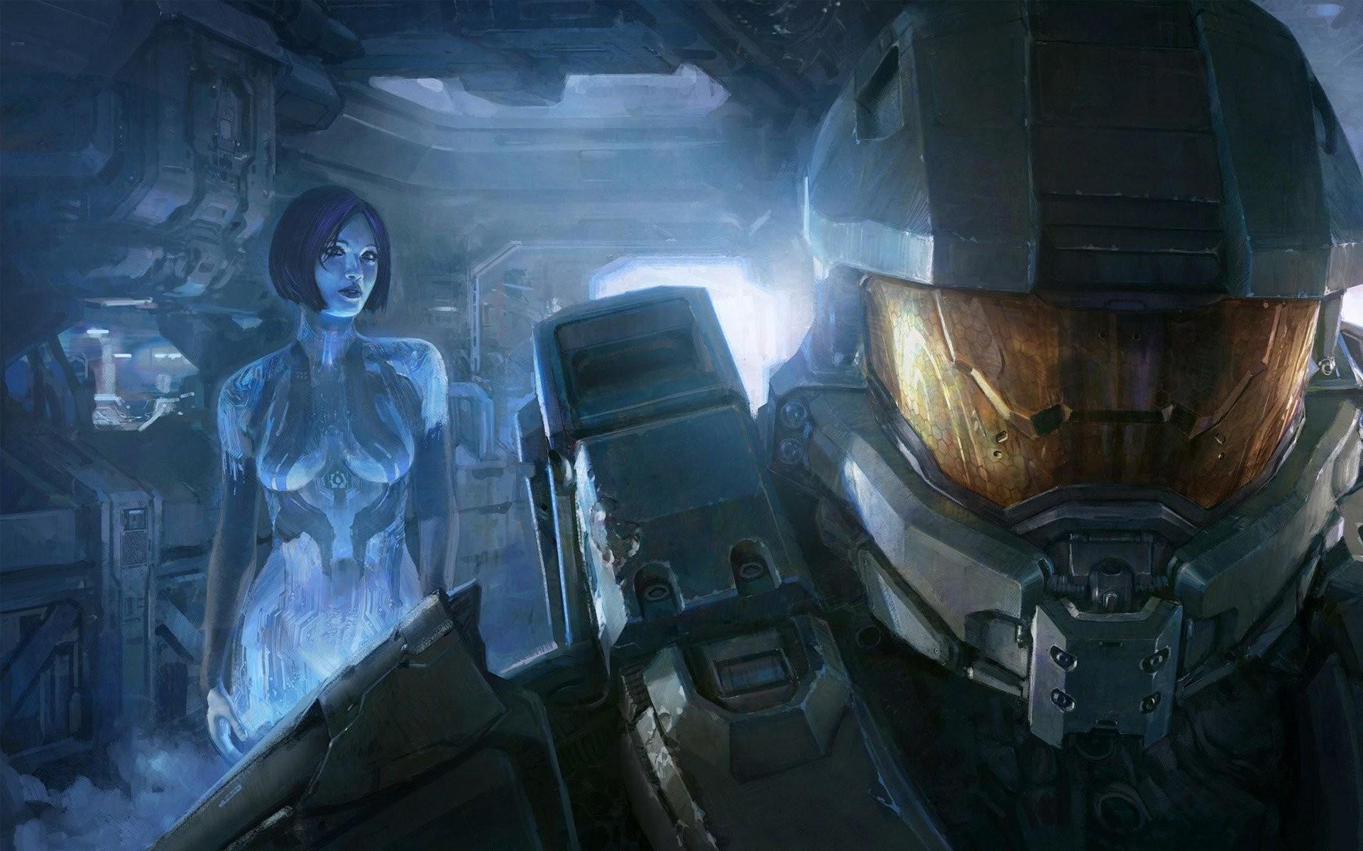 Halo 4 Master Chief And Cortana 536202 …