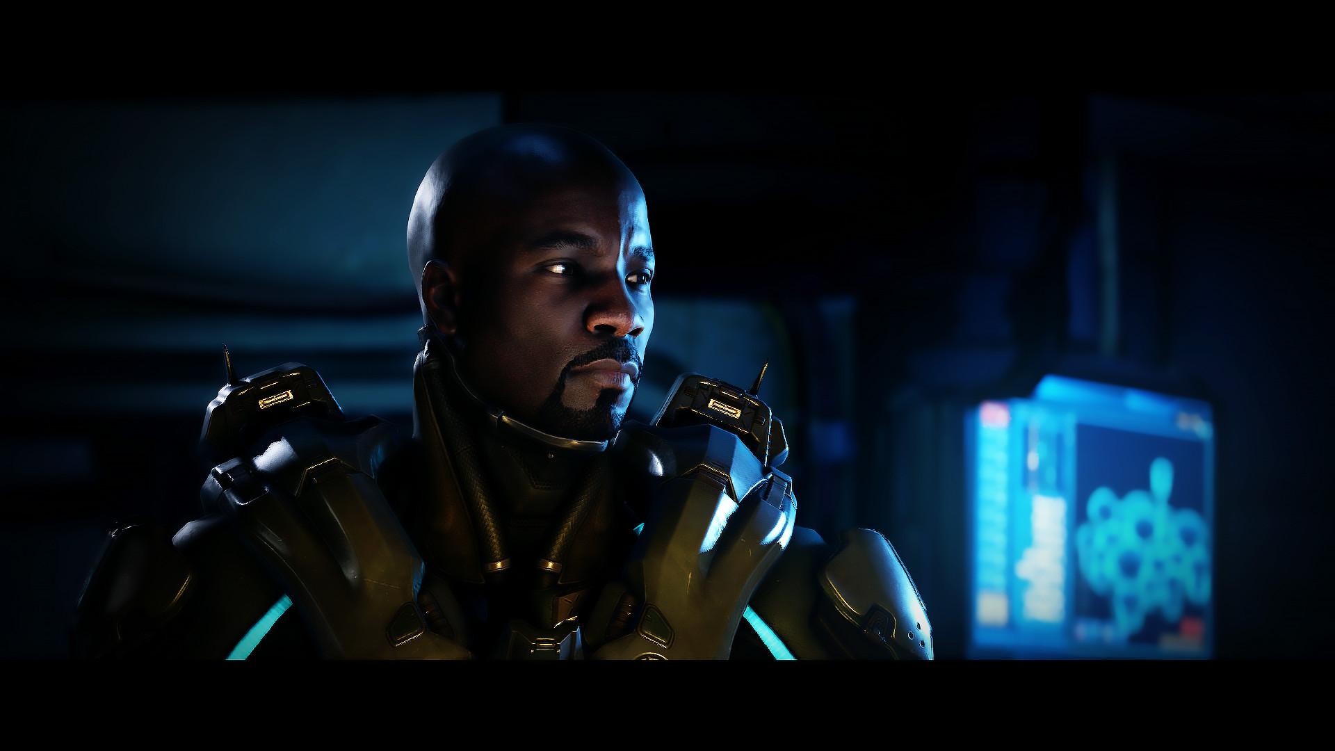 General Halo Arbiter Spartan Locke Cortana Master Chief Halo 5:  Guardians