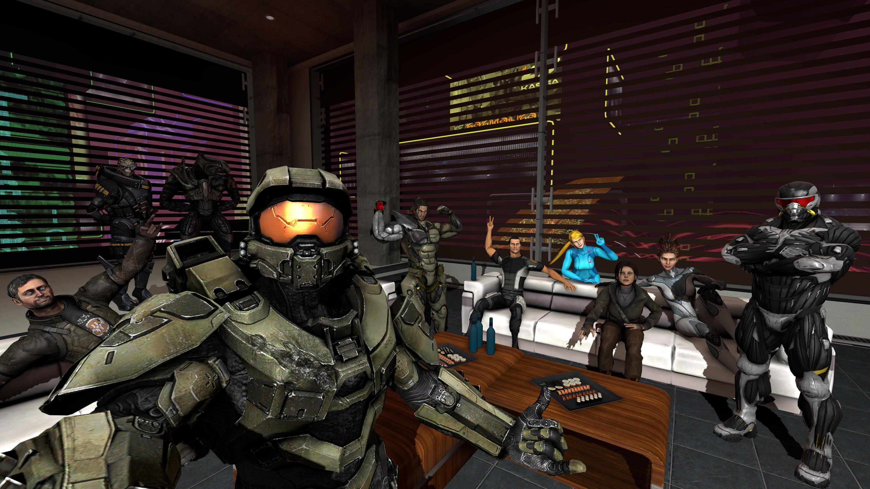 General Source Filmmaker Master Chief Crysis Samus Aran StarCraft  Sarah Kerrigan Lara Croft Commander Shepard