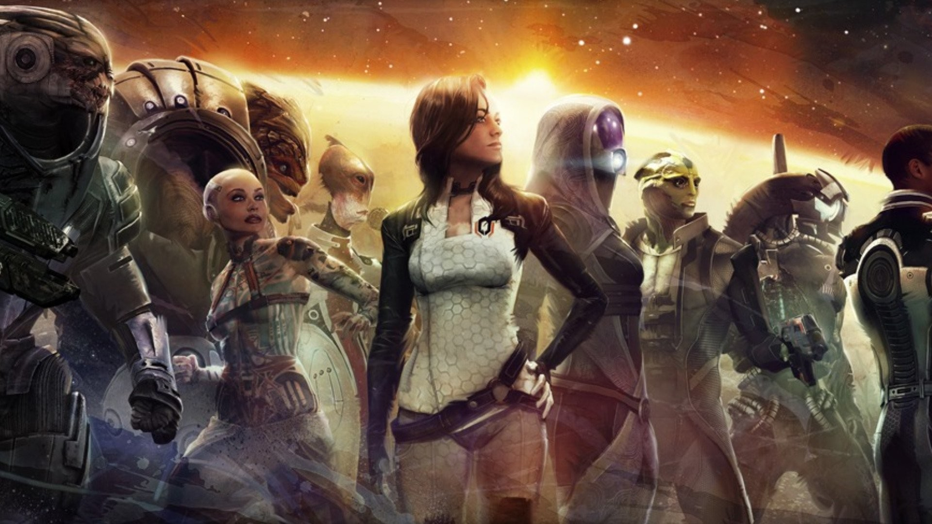 HD Wallpaper | Background ID:280738. Video Game Mass Effect 2