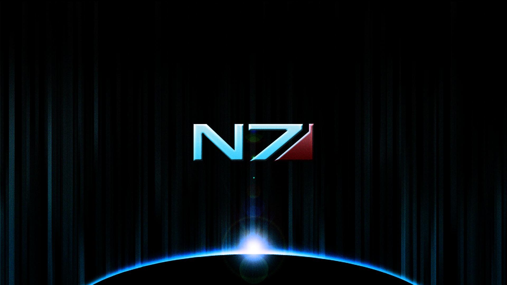 Mass Effect Wallpaper Logo HD