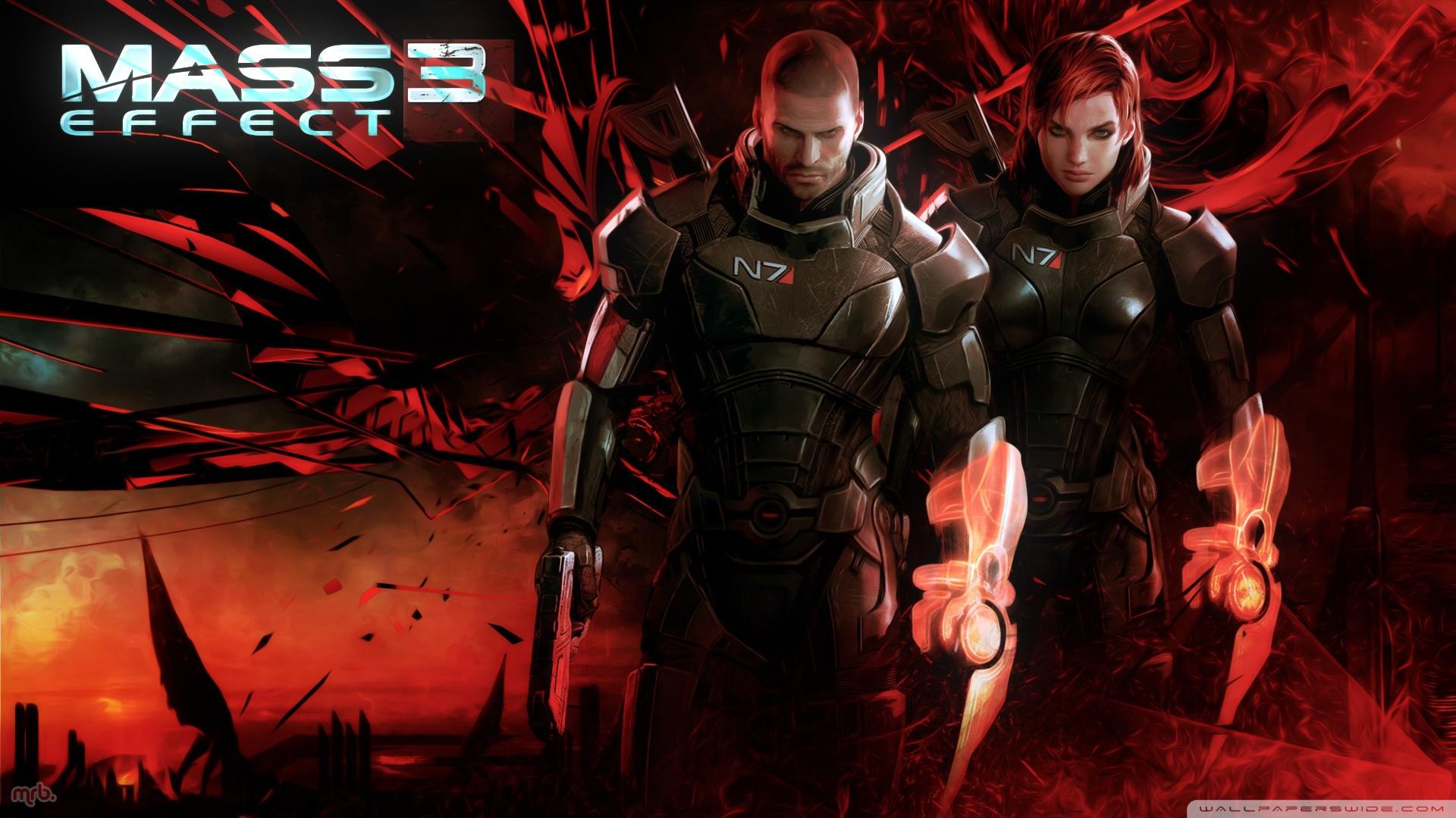 Mass Effect Desktop Backgrounds Wallpaper
