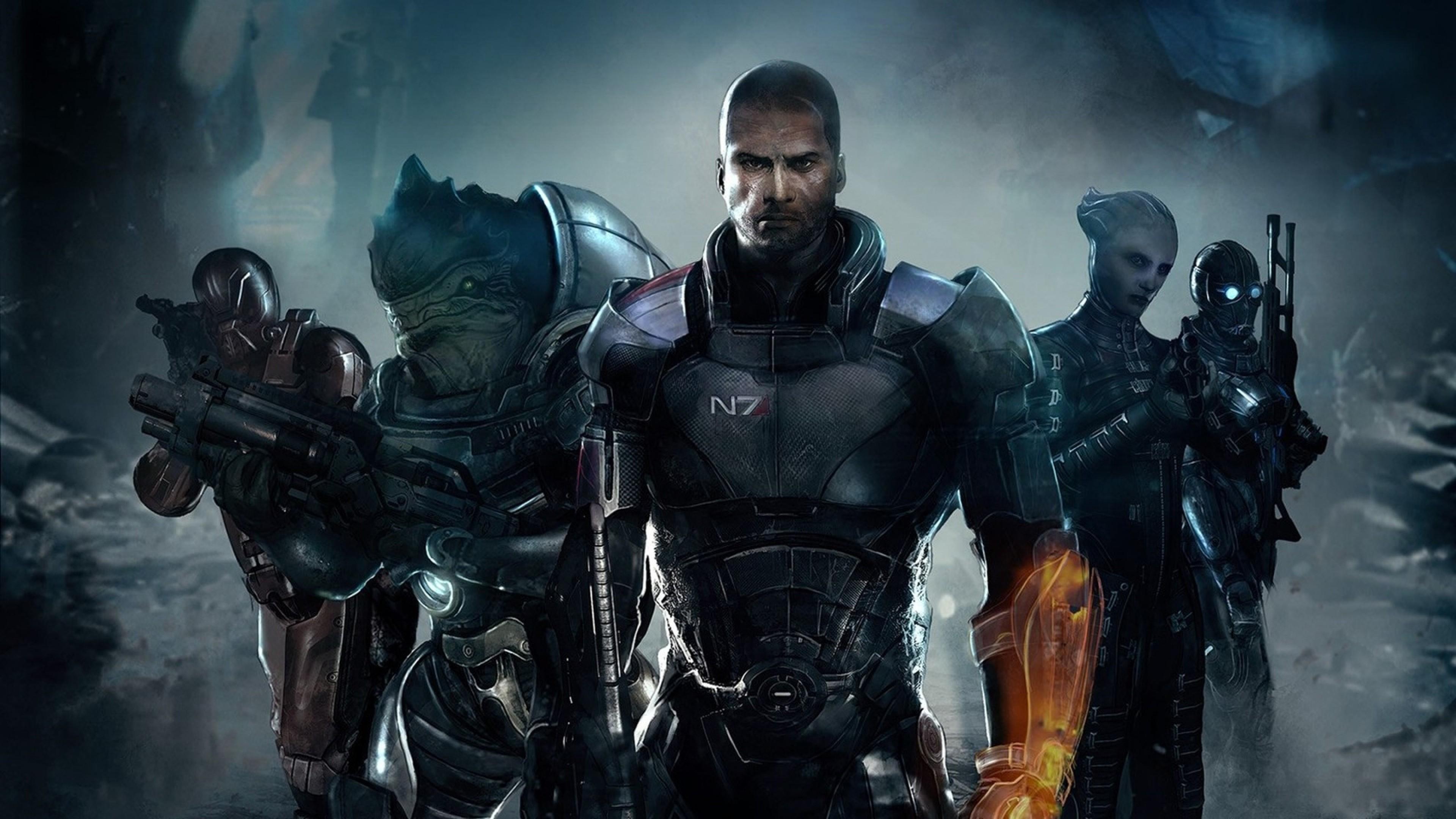 Art Images Desktop Mass Effect HD Wallpapers.