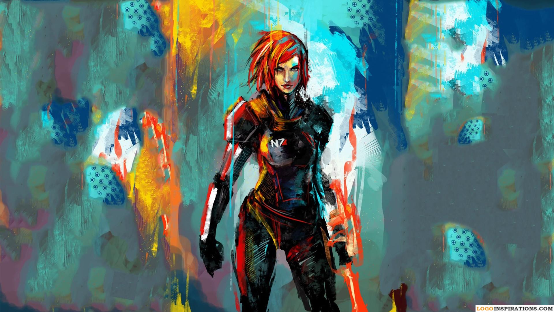 Desktop HD Mass Effect Wallpaper