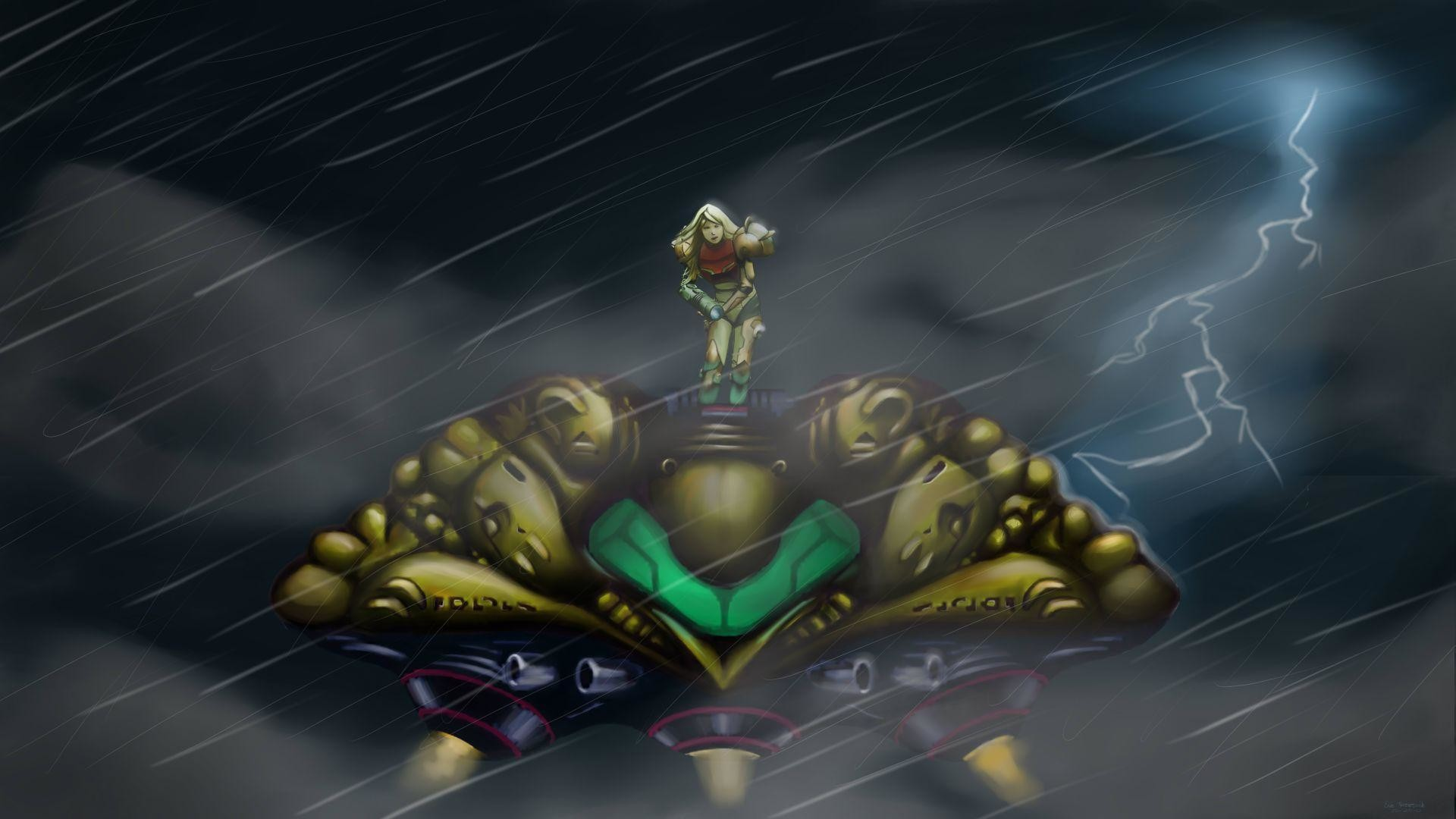 Wallpapers For > Super Metroid Wallpaper 1920×1080