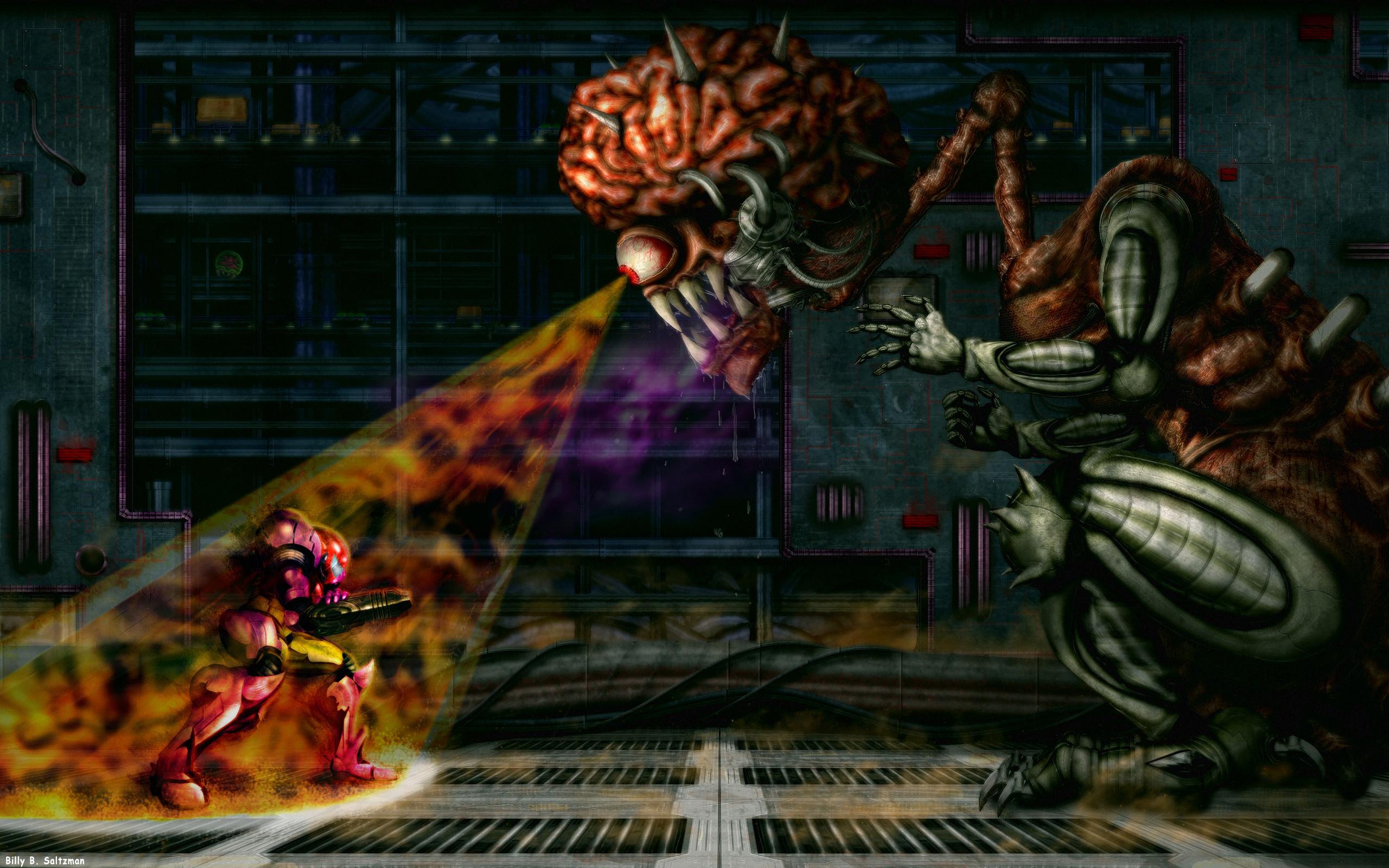 … Super Metroid: Final Boss HD by Billysan291