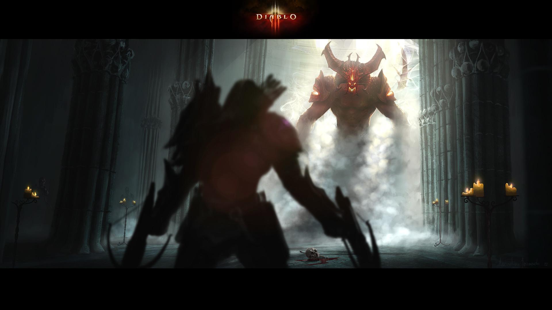 Diablo Rebirth #Awesome #cool #Diablo #Games #gaming #Rebirth #wallpaper