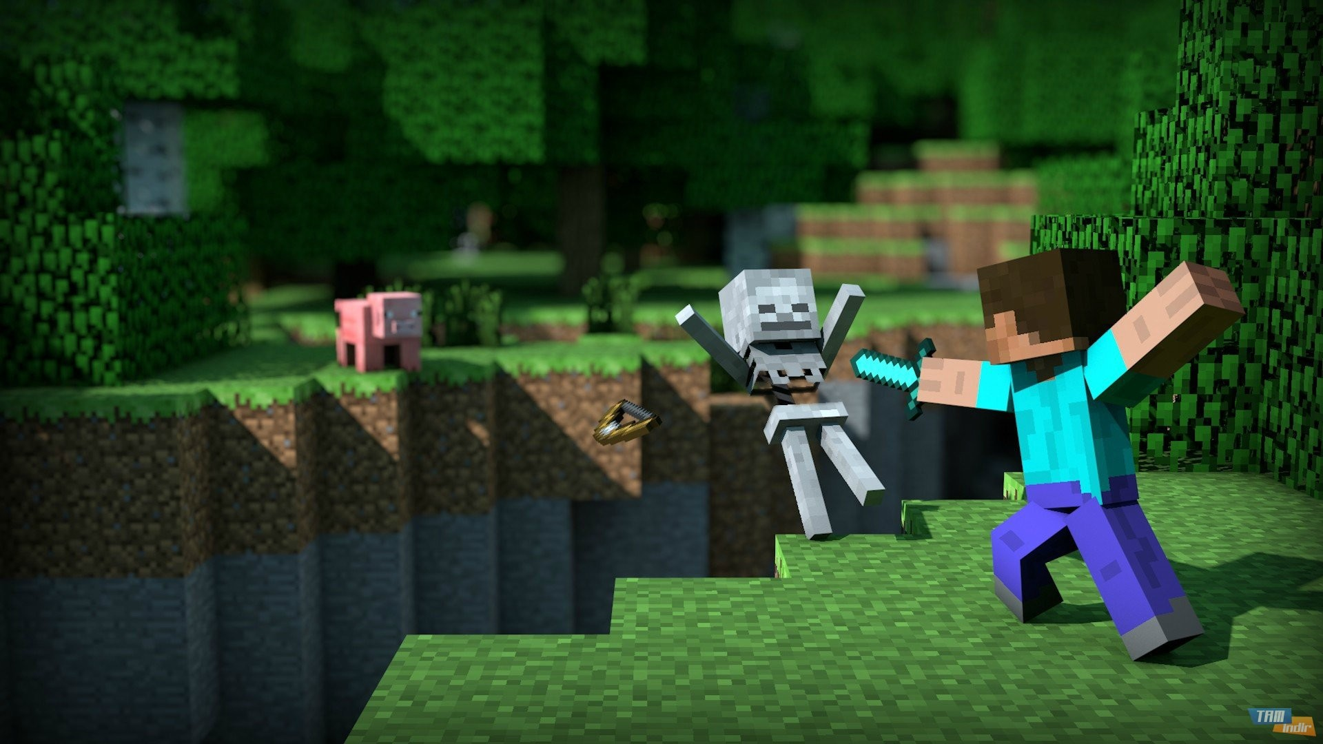 awesome minecraft hd desktop wallpapers 1080p backgrounds 1920×1080