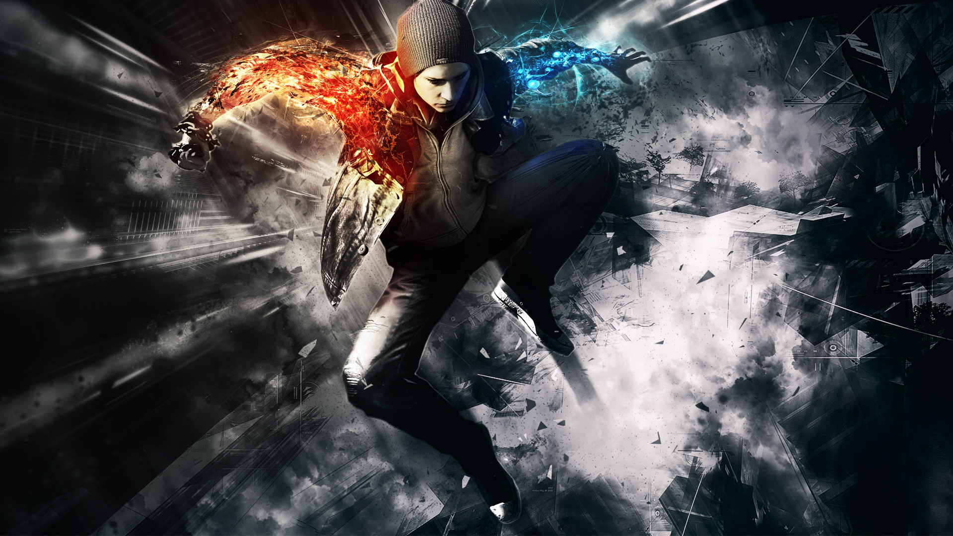 Awesome Infamous Second Son Wallpaper