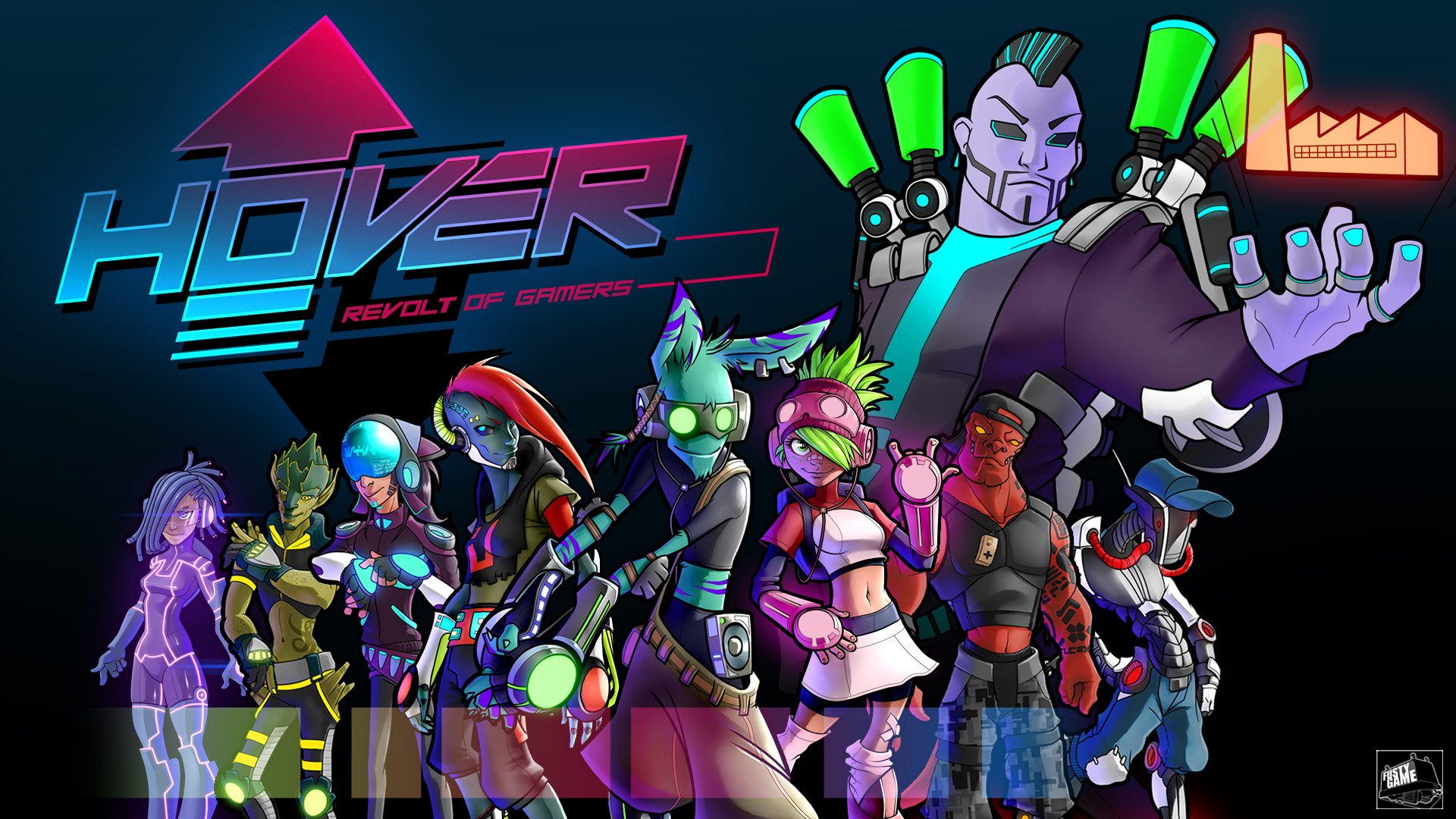 Hover: Revolt Of Gamers Is Jet Set Radio Future Meets Mirror's Edge
