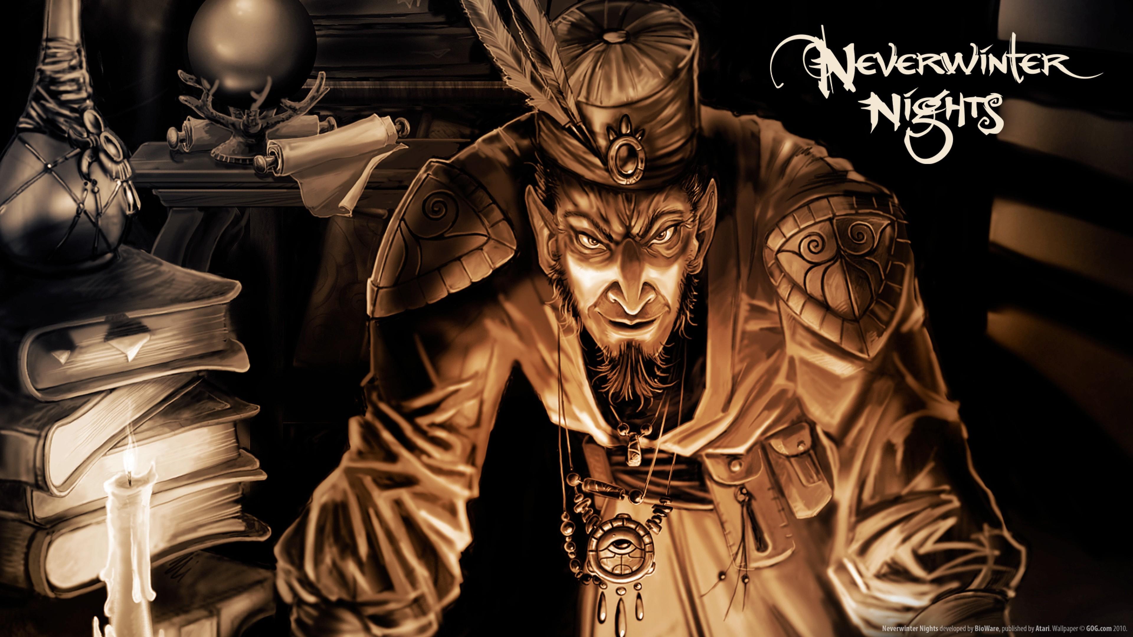 Wallpaper neverwinter nights, bioware corporation, atari, role  playing game, forgotten realms
