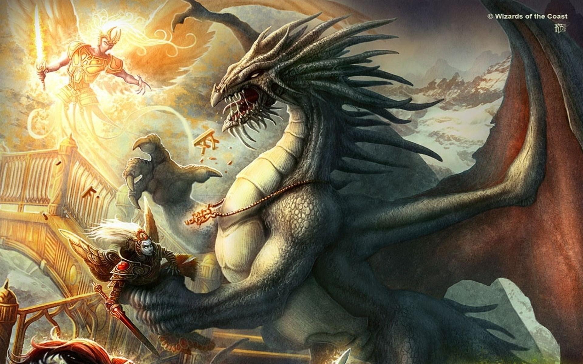 DUNGEONS DRAGONS Forgotten Realms magic rpg action adventure puzzle fantasy  warrior dragon wallpaper | | 821051 | WallpaperUP