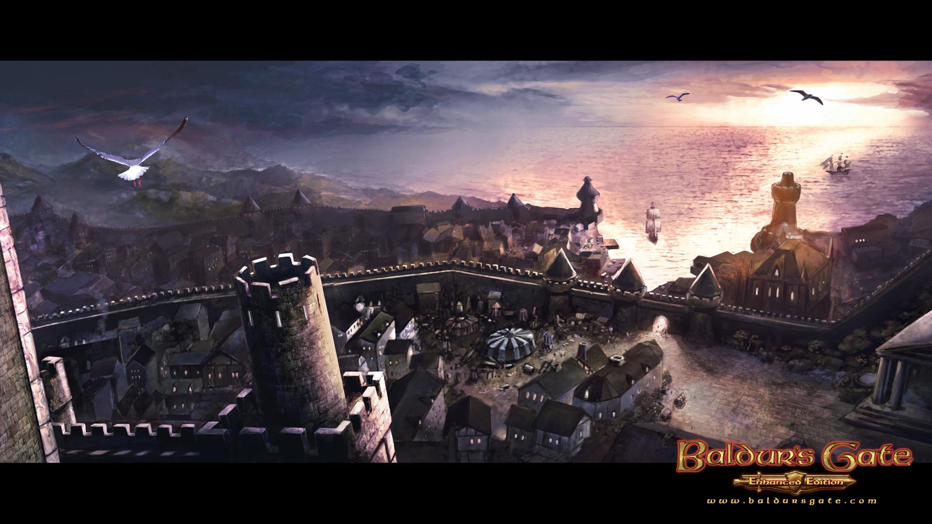 Baldurs Gate Full HD Wallpaper 1920×1080