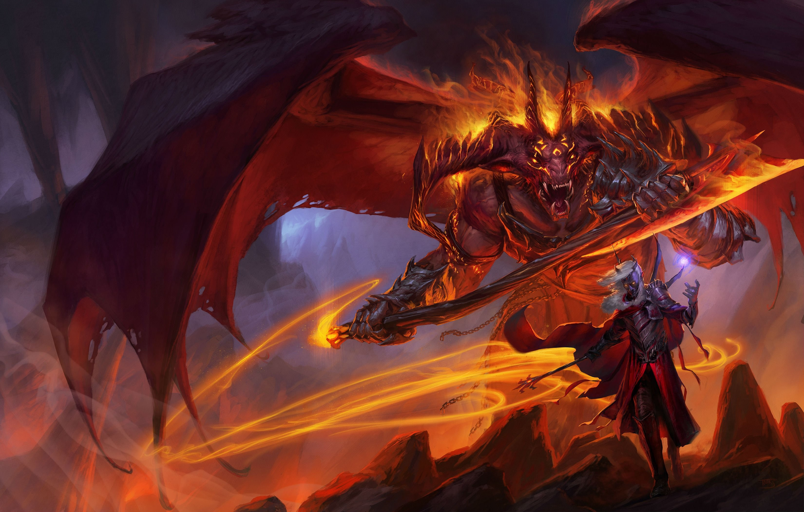 DUNGEONS DRAGONS Forgotten Realms magic 1scl rpg action adventure puzzle  fantasy warrior dragon wallpaper | | 821037 | WallpaperUP