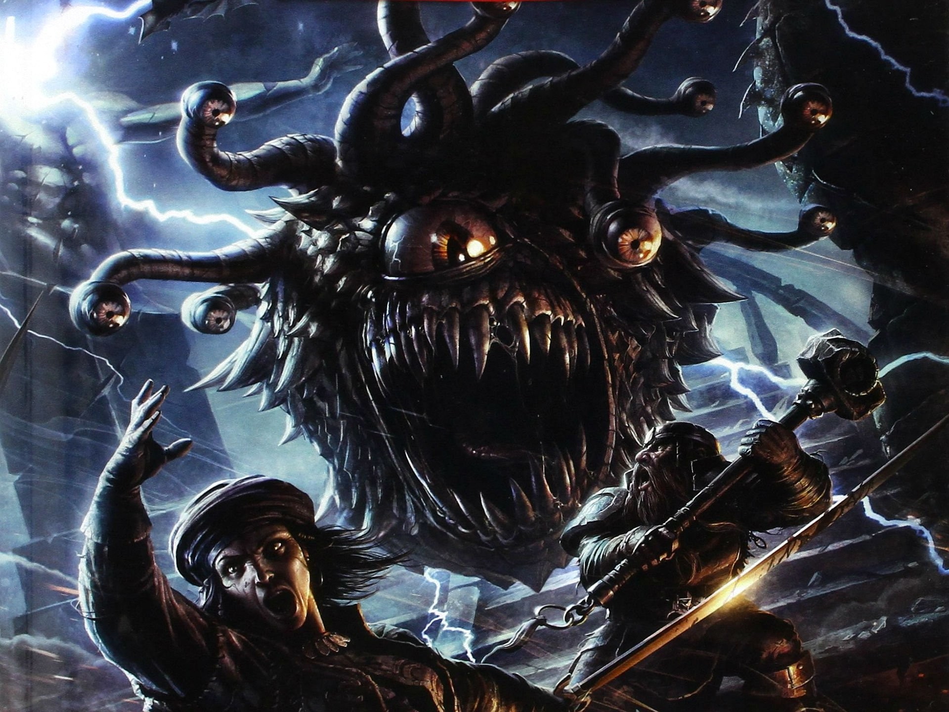 DUNGEONS DRAGONS Forgotten Realms magic rpg action adventure puzzle fantasy  monster creature wallpaper | | 821411 | WallpaperUP