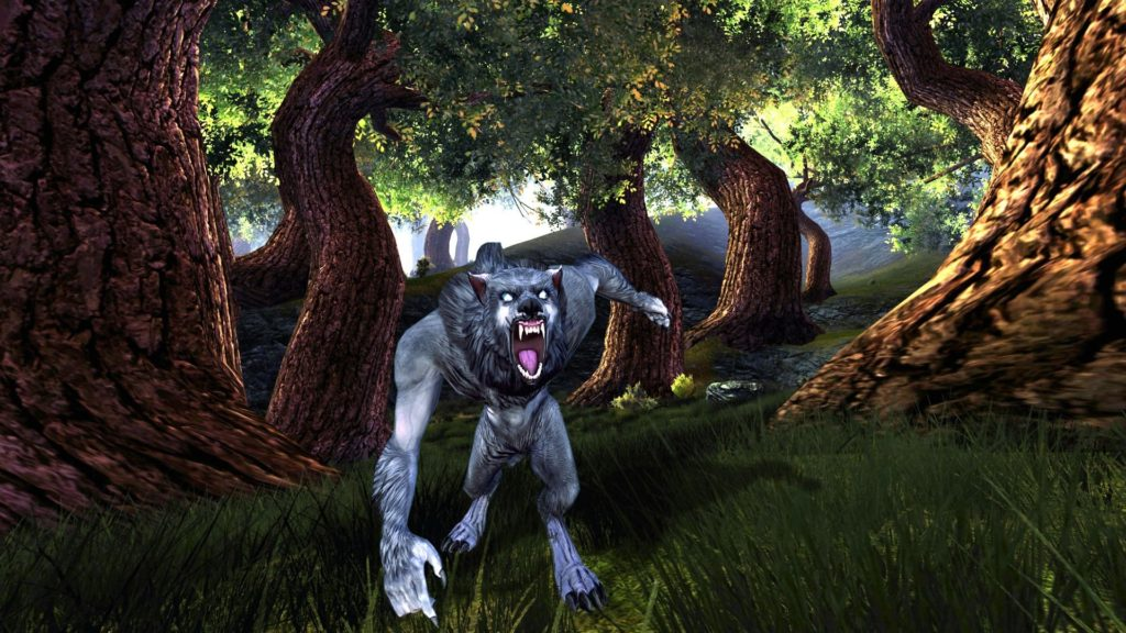 DUNGEONS DRAGONS Forgotten Realms magic rpg action adventure puzzle fantasy  monster creature werewolf wolf wolves wallpaper     821425   …