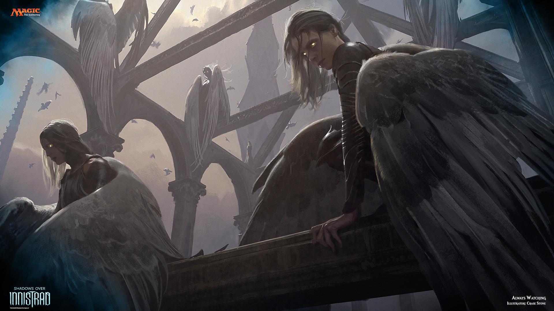 https://magic.wizards.com/sites/mtg/files/images/wallpaper/Always_Watching_SOI_1920x1080_Wallpaper.jpg  | MtG wallpaper | Pinterest | Mtg art