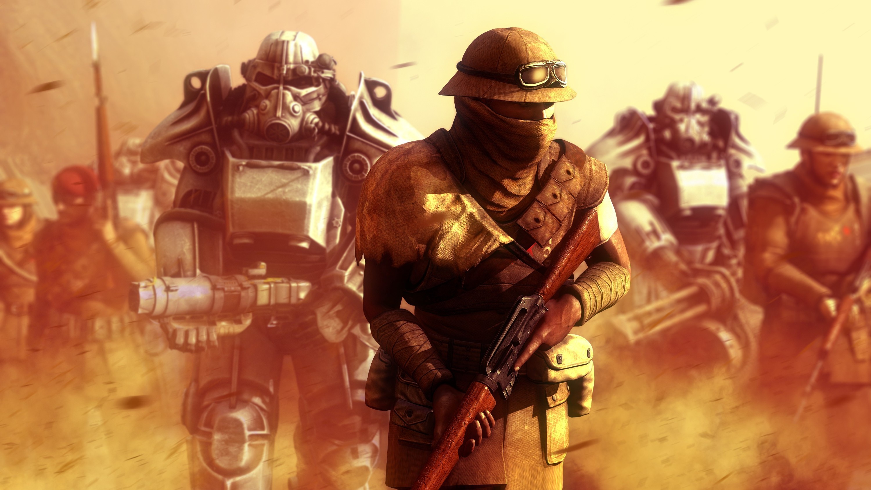 video Games, Fallout: New Vegas, New California Republic, Power Armor Wallpapers  HD / Desktop and Mobile Backgrounds