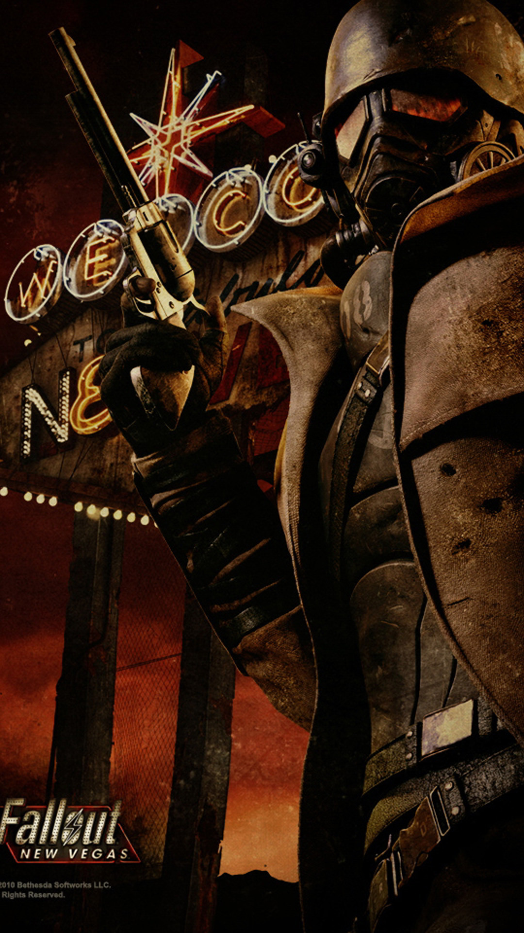 Fallout new vegas Games Galaxy S5 wallpaper