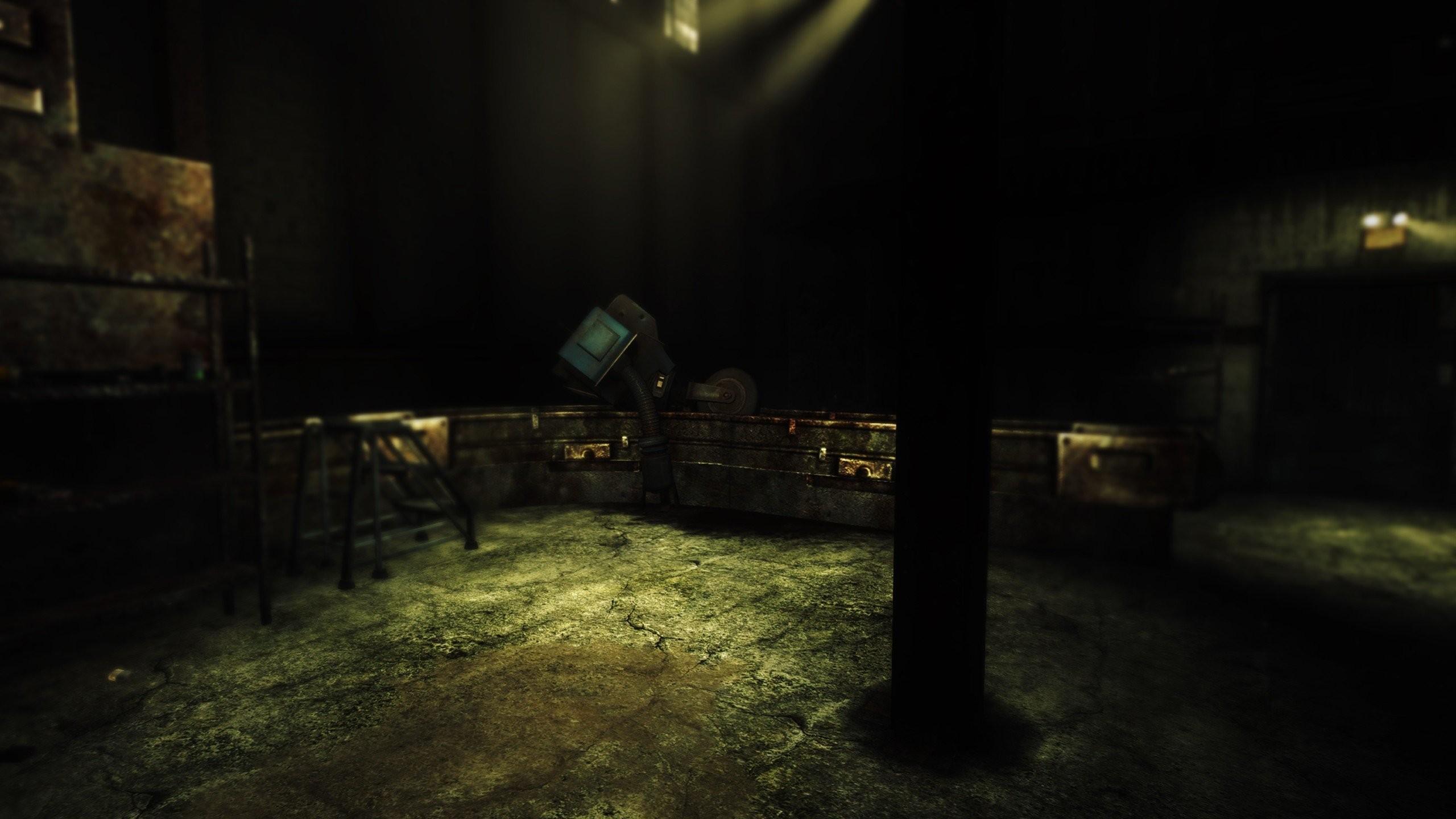 Fallout New Vegas 3 Screenshots Environment Dark Video Games ENB 1440 126894