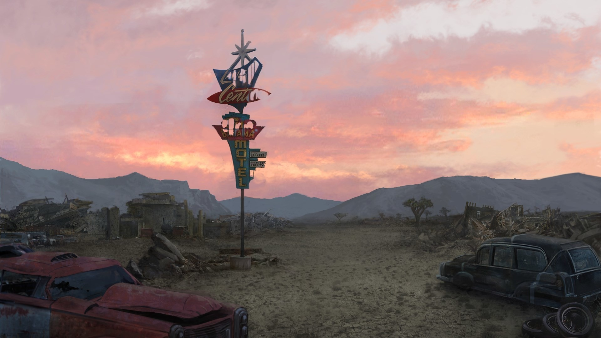 fallout new vegas computer wallpaper backgrounds (Happy Cook 1920×1080)