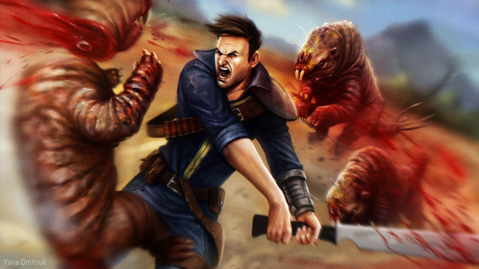 Video Game – Fallout: New Vegas The Courier (Fallout: New Vegas) Wallpaper