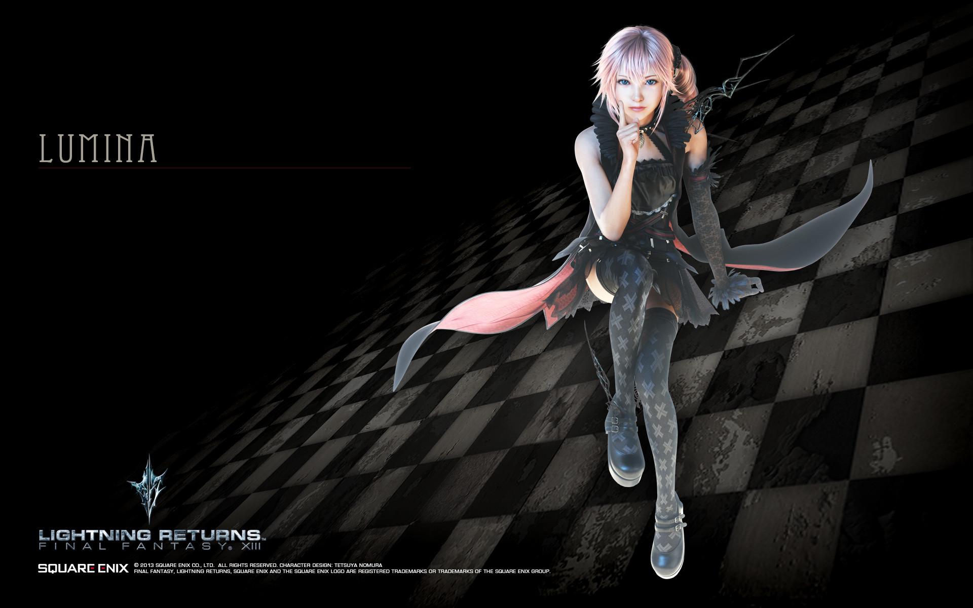 Lightning Returns Final Fantasy XIII Lumina Wallpaper