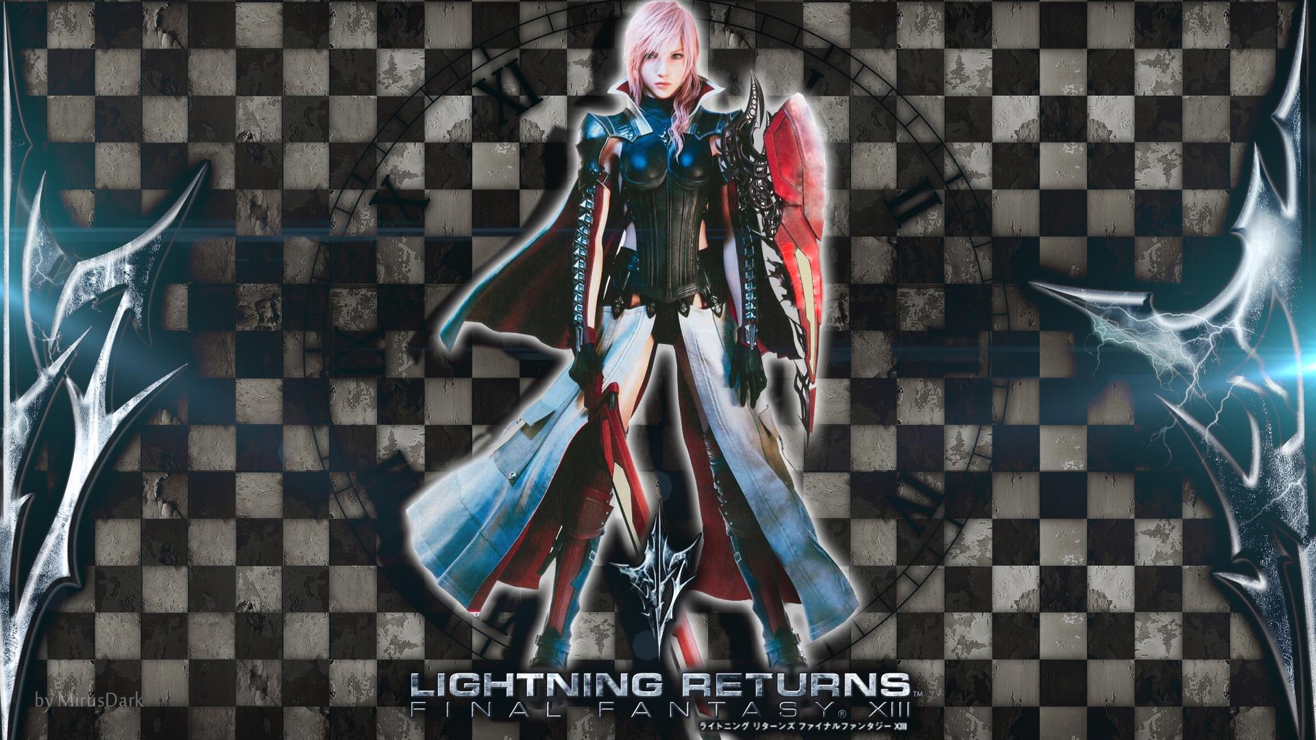 Lightning Returns: Final Fantasy XIII 1080p Wallpaper