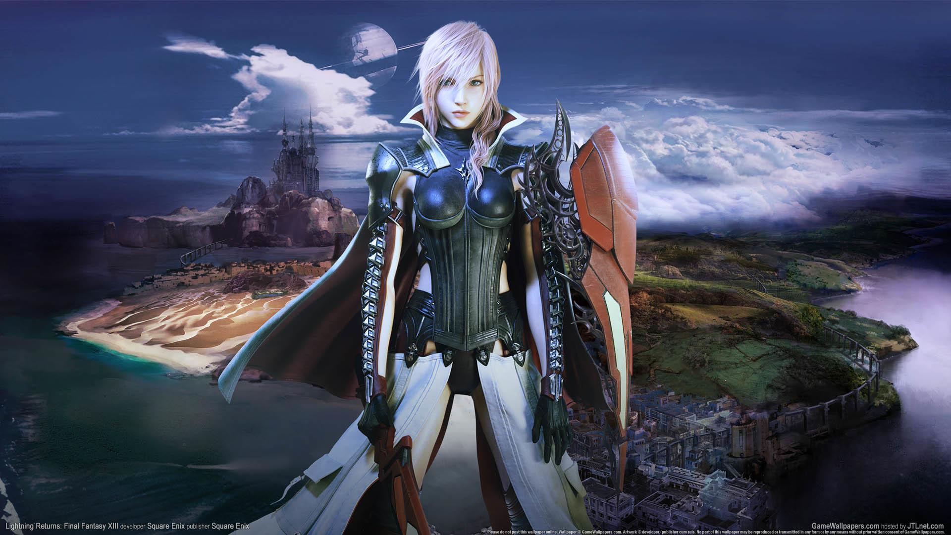 … Lightning Returns: Final Fantasy XIII wallpaper or background 01